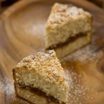 Coconut Streusel Coffeecake with Pineapple Vanilla Filling