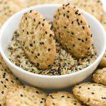 Crunchy Seed Cookies