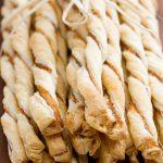 Prosciutto Parmesan Puff Pastry Straws