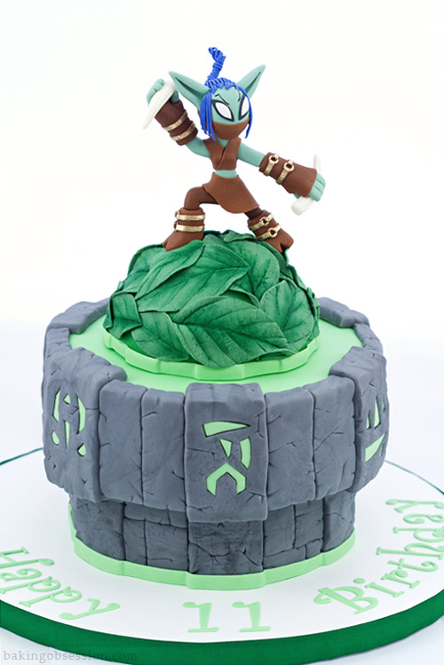 Pleasant Loose Stealth Elf Skylander Cake Baking Obsession Funny Birthday Cards Online Inifofree Goldxyz